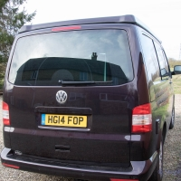 VW T5 converted to campervan