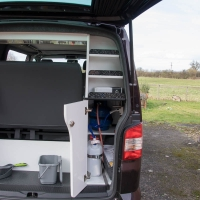 VW T5 water and gas