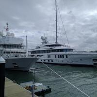 The posh motor boats