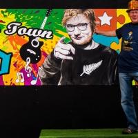 Ed Sheeran in Dunedin