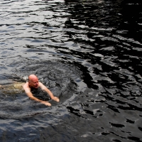 Swimming in Doubtful Sound