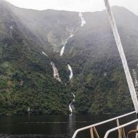 Falls into Doubtful  Sound