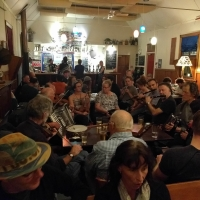 Itish band at the Free House Pub