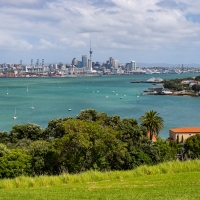 Auckland from Devonport