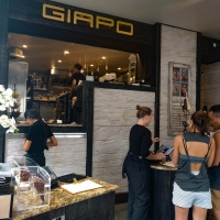 The ice cream parlour Giapo