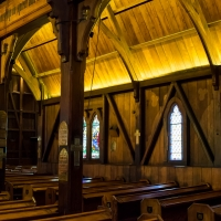 Old St Paul's, a wooden Anglian cathedral
