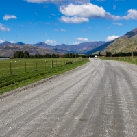 Drive out from Wanaka towards Glacier