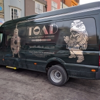 Love the Gin delivery van in Oxford