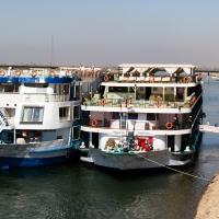 SS Misr, Low bridge ahead