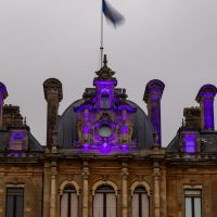 Waddesdon Manor Christmas Lights
