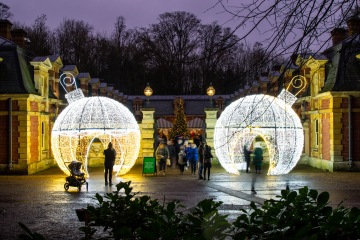 Waddesdon Manor Christmas Lights