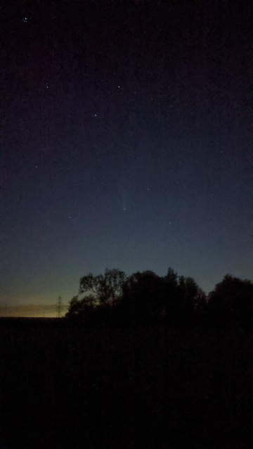 Comet NEOWISE photographed from Kingswood