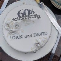 Joan and David 60th Wedding anniversary