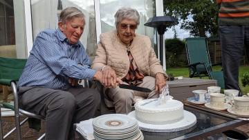 Joan and David 60th Wedding anniversary
