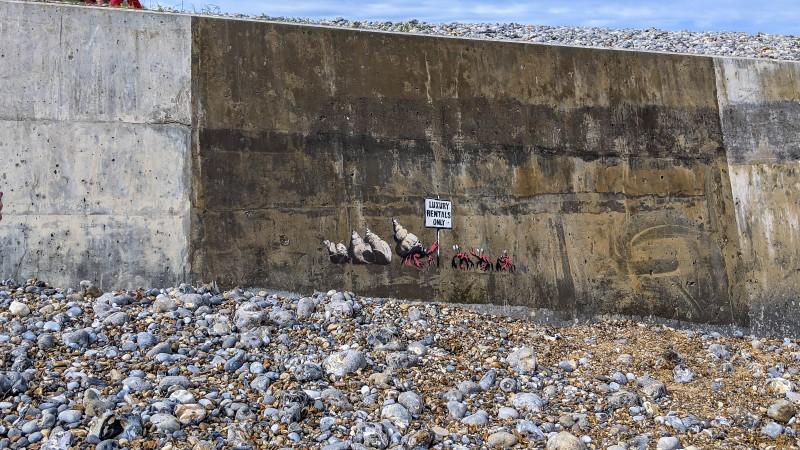 North Norfolk - Banksy at Cromer