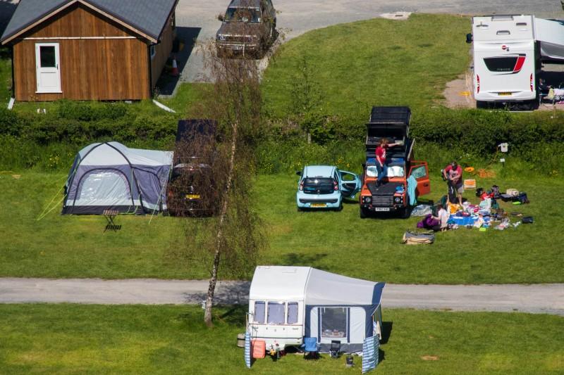 Camping at Fforestfields