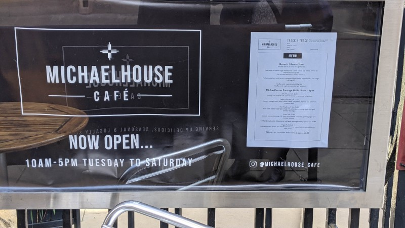 Cambridge Michaelhouse Cafe