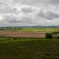 View from Old Sarum towards Sarum Airfield