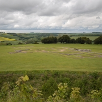 Old Sarum, the old cathedral