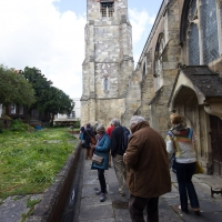 Salisbury city walk, St Thomas & St Edmunds's Church