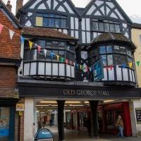 Salisbury city walk, Old George Mall