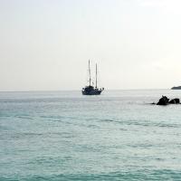 Ecuador, Galapagos. Espanola Island, Gardner Bay
