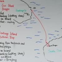 Ecuador, Galapagos. Santa Cruz (Cero Dragon) and Santiago Island (Sullivan Bay)