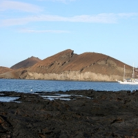 Ecuador, Galapagos. Santiago Island (Sullivan Bay)