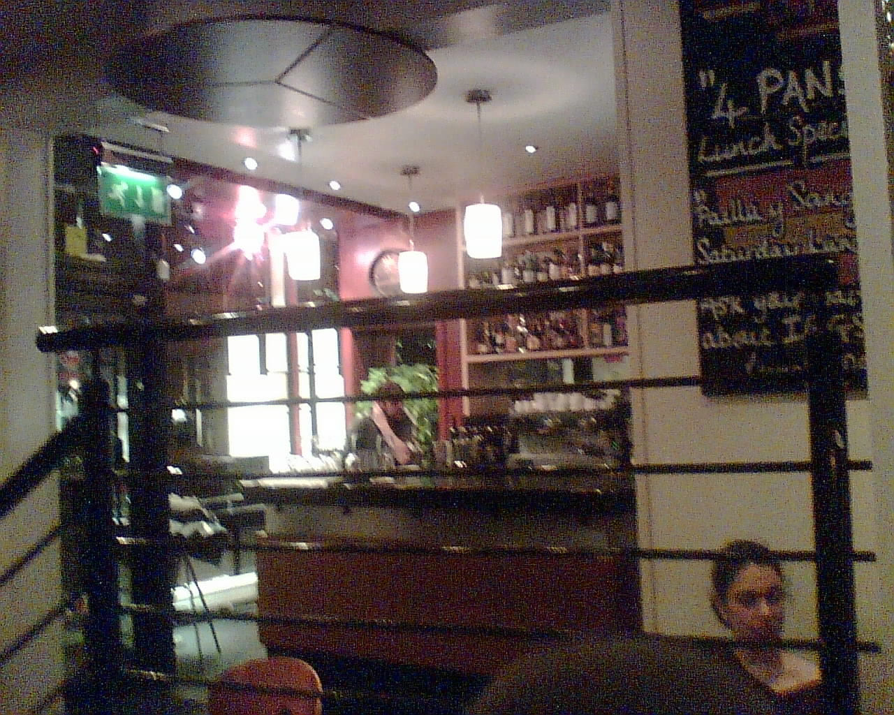 The inside of Barioja, Edinburgh