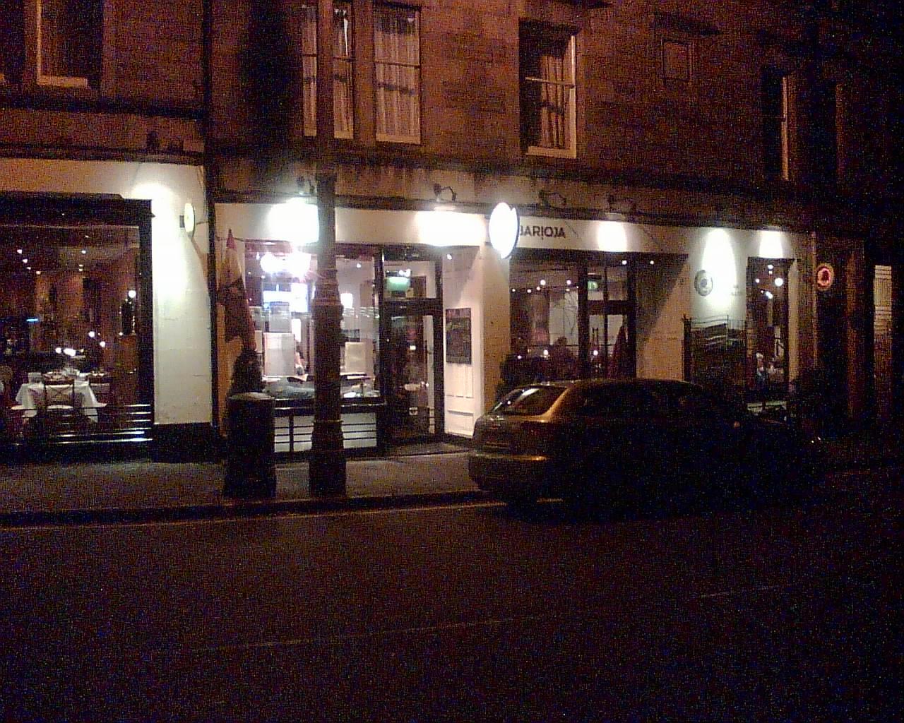 Barioja, Edinburgh