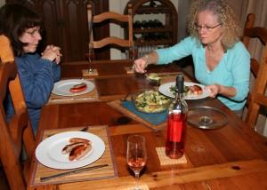 Dinner a Trois