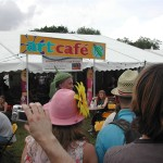 The Art Cafe Glastonbury 2009