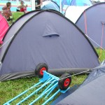 My Sack barrow, and the tent nearby