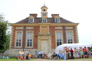 The country residence of Tony Blair, the Wotton fete on his back door.
