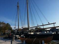 L.A. Dunton New England Fishing  schooner
