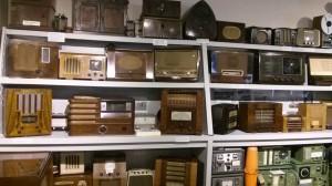 Old wartime radios