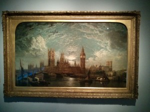This was a picture depicting Sherlock Holmes London.  I loved the illumination in the clouds.