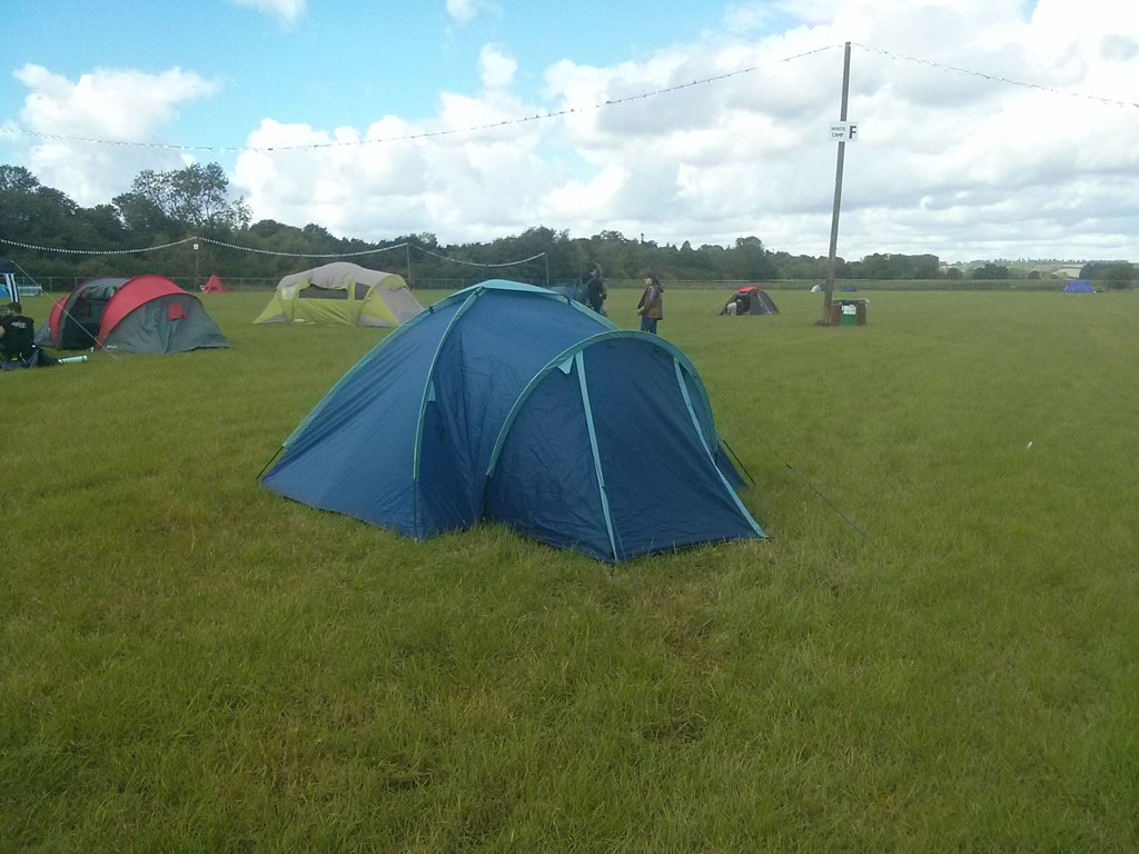 Reading Festival White Camping