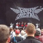 Baby Metal playing at Reading Festival 2015