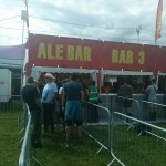Reading Festival Ale bar