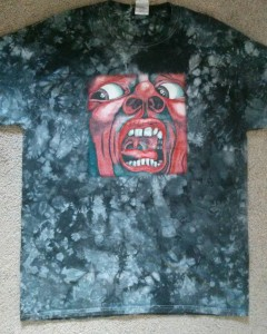King Crimson Tee Shirt, The Front