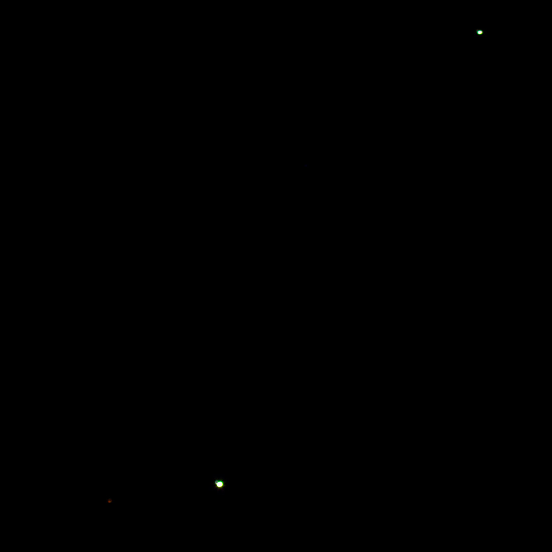 Mars, Venus and Jupiter on 1st November 2015 a 5.42 EDT, Kingswood, Bucks, UK
