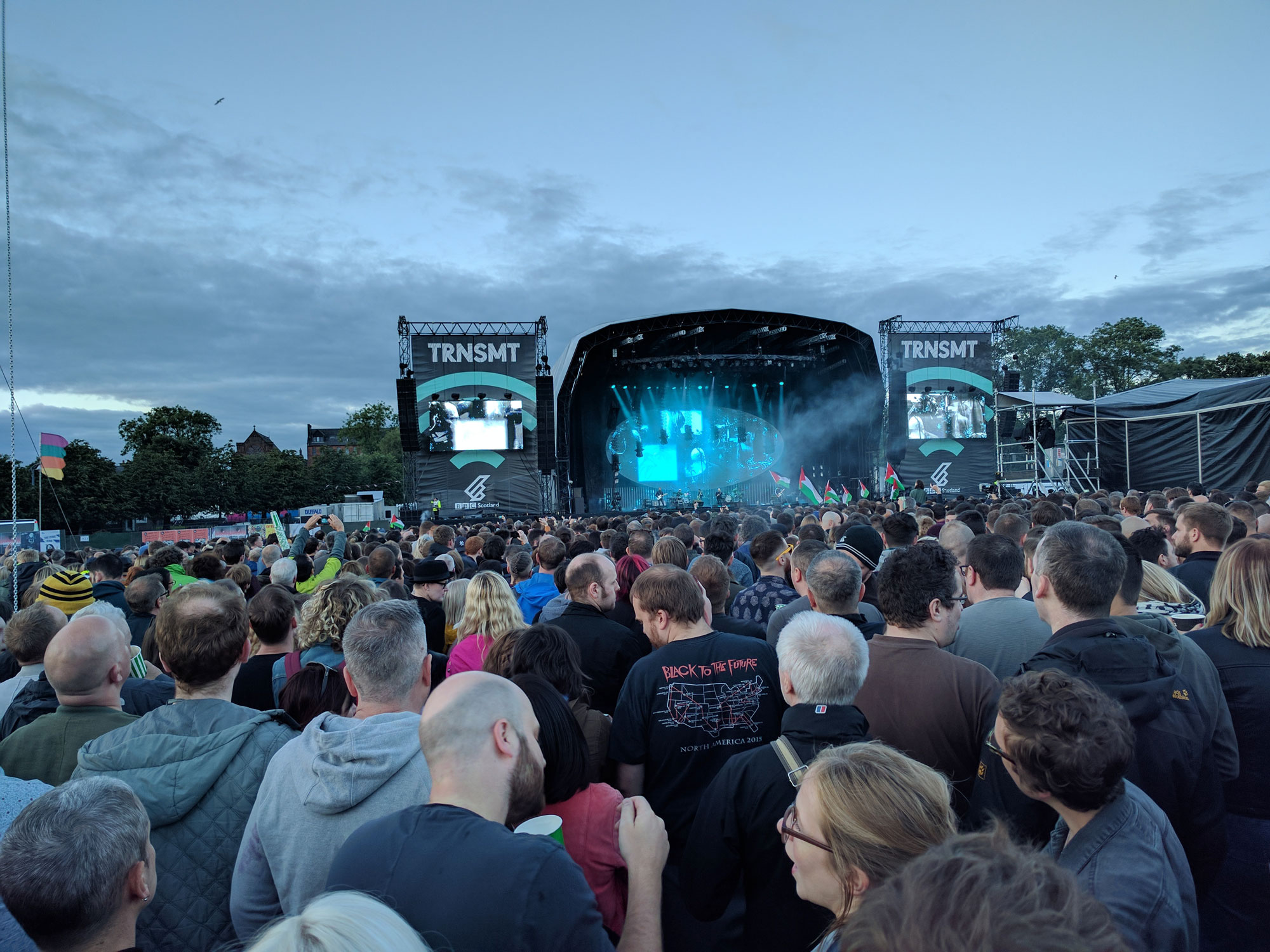 TRNSMT Festival at Glasgow Green